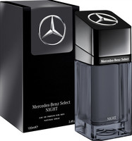 ***MERCEDES*** SELECT NIGHT FÉRFI PARFÜM, MERCEDES-BENZ 100 ML (2020 MODELLÉV) kép, fotó
